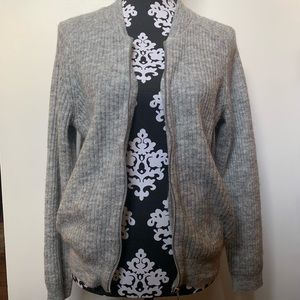 Divided Grey Sweater Jacket